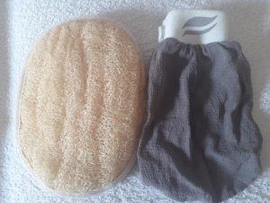 gants de gommage